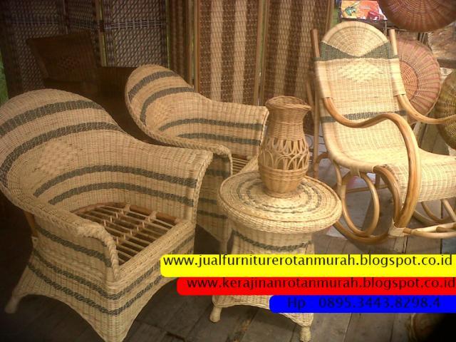 Foto: Furniture Rotan Minimalis,  Grosir Furniture Rotan, Furniture Rotan Sintetis Murah