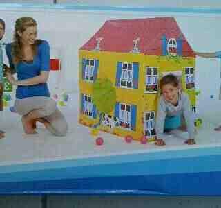 Foto: Tenda Anak Motif Rumah