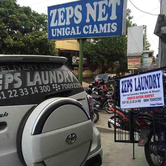Foto: Zeps Laundry Unigal Ciamis