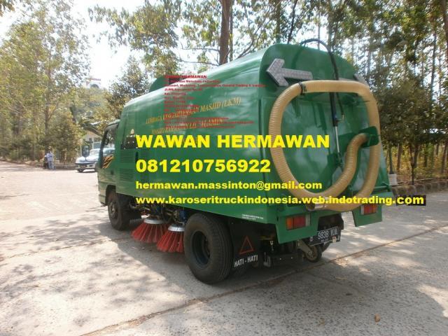 Foto: Jual Karoseri Mobil Truk Penyapu Jalan Harga Murah Di Jakarta & Bekasi