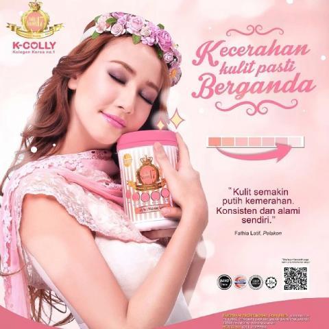 Foto: Suplement Pemutih Kulit Import Malaysia K-Colly Sweet 17