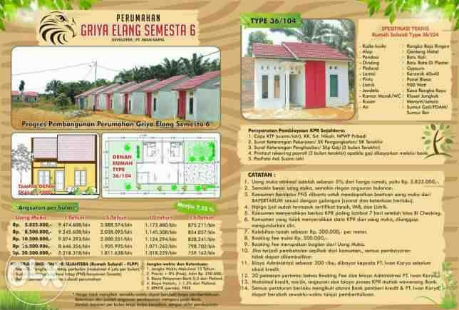 Foto: Rumah Bersubsidi FLPP Di Pasaman Barat Sumatera Barat