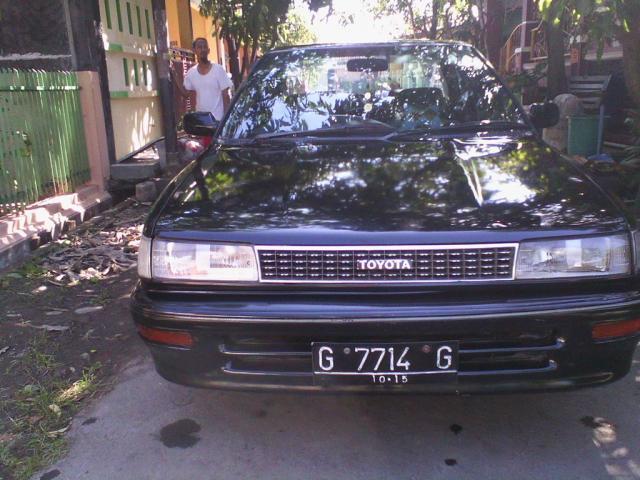 Foto: Dijual Toyota Twincamp Thn 1991 Hitam