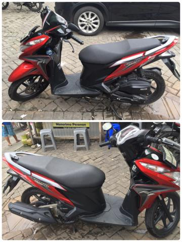 Foto: Dijual Motor Honda Vario Second Like New