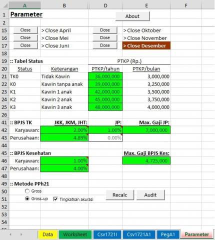Foto: Software Hitung PPH21 Karyawan Mudah Dan Ekonomis
