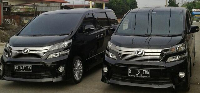 Foto: Rent Car Toyota Alphard Di Medan