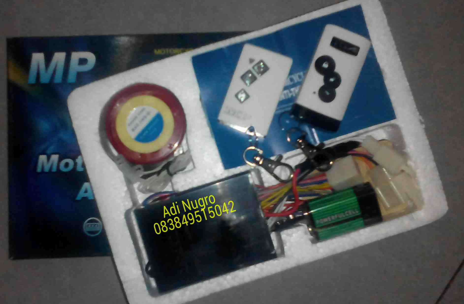 Foto: Alarm Motor Remote Control MP 2-Way Surabaya