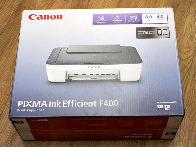 Foto: Canon Pixma E400