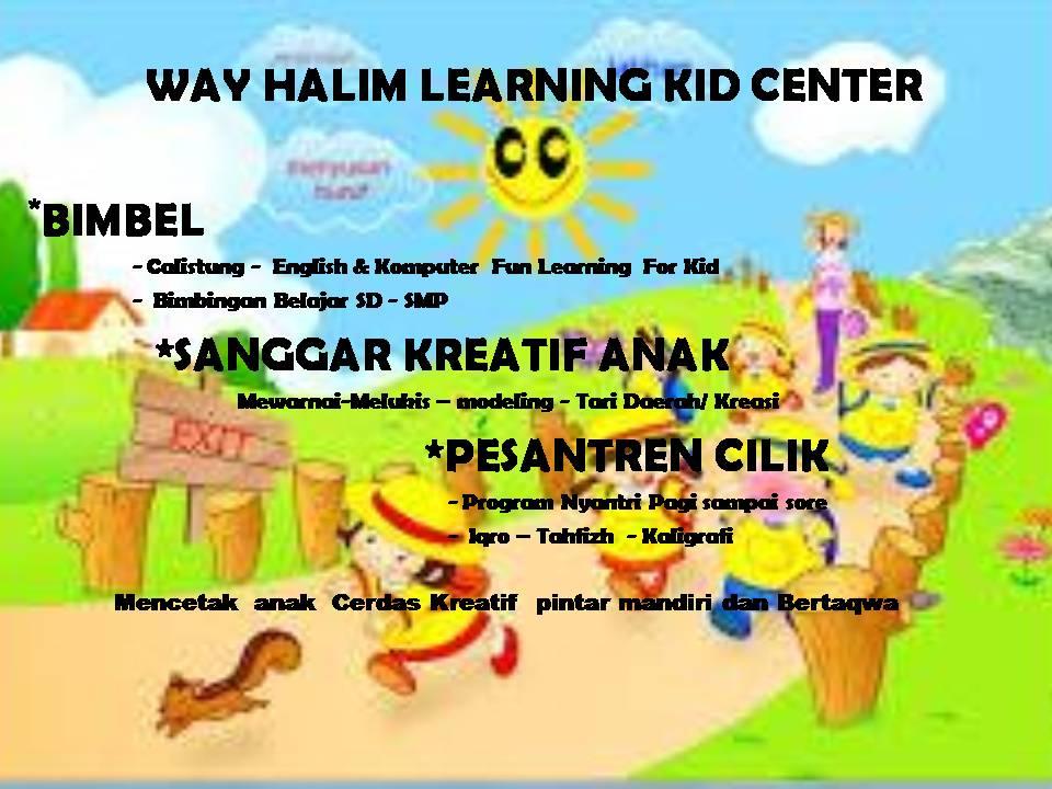 Foto: Wayhalim Learning Kid Center