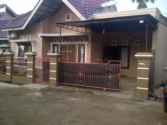 Foto: Rumah Cantik Type 54 Lebong Gajah Kenten Palembang