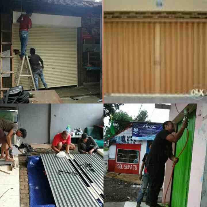 Foto: Service Rollingdoor Dan Pintu Harmonika Surabaya
