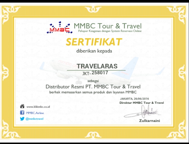 Foto: Bisnis Travel Bersama Travelaras MMBC