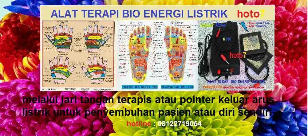 Foto: Terapi Zona Bio Listrik