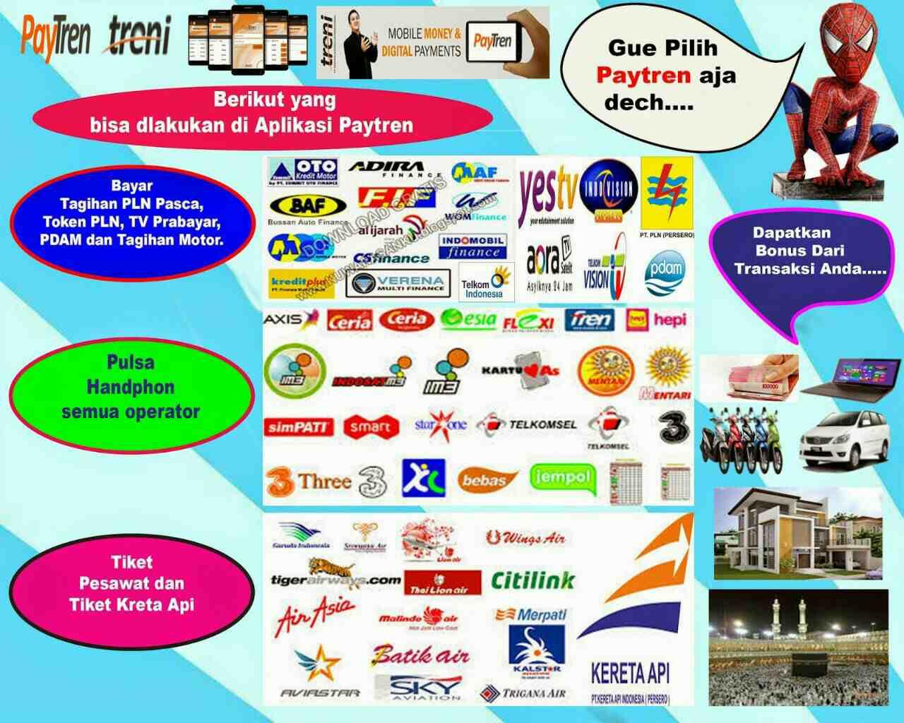 Foto: Aplikasi Paytren