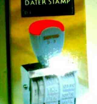 Foto: Stampel Date Tanggal Exp Bisa Diubah