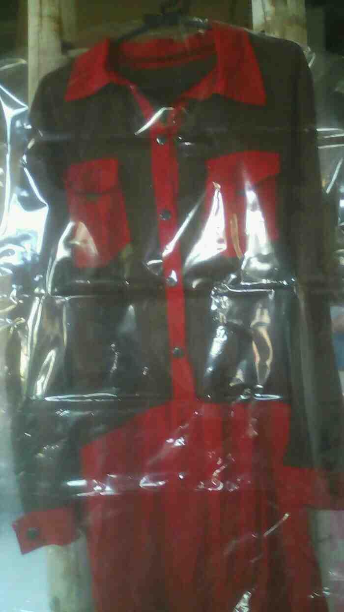 Foto: Plastik Gantung Laundry Panjang Dress Jubah