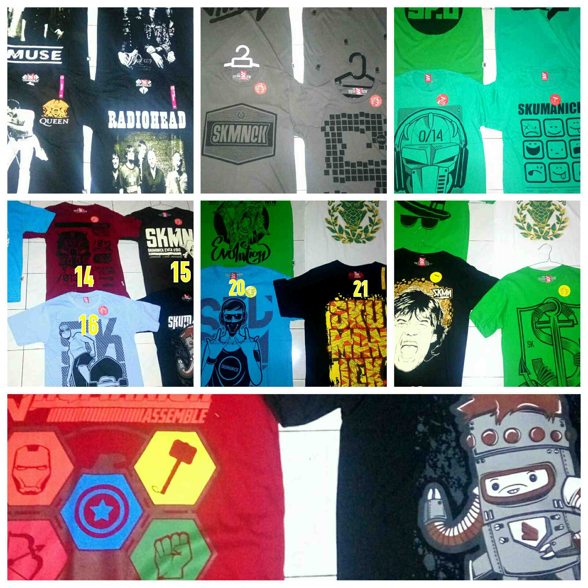 Foto: Grosir Kaos Distro Original Branded Skumanick