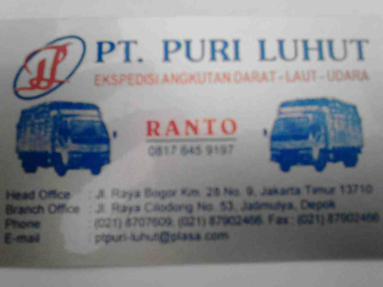Foto: Rental Truk Box