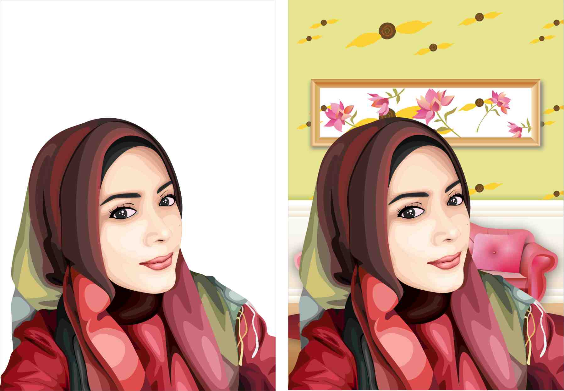 Foto: Desain Wajah