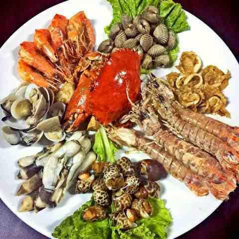 Foto: Mix Seafood Rebus Atau Goreng