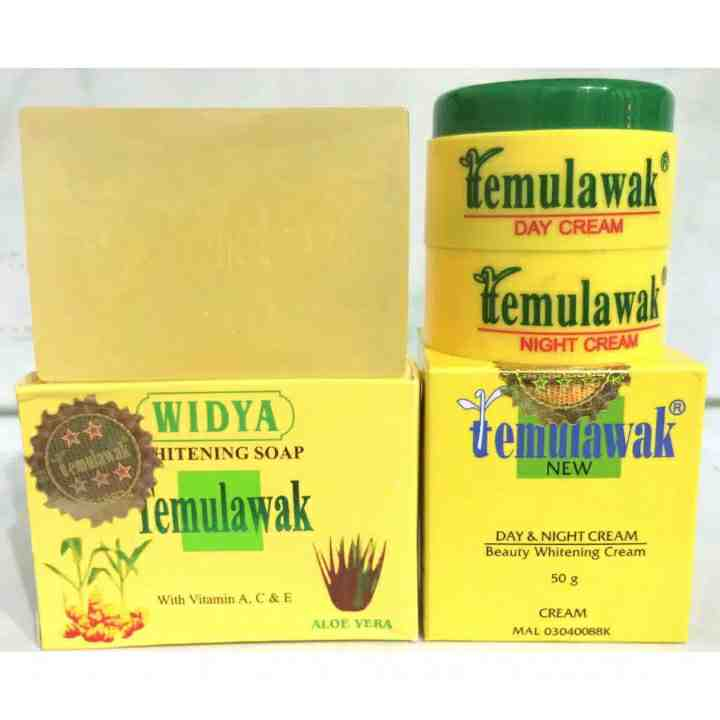 Foto: Cream Temulawak Original Siang & Malam + Sabun