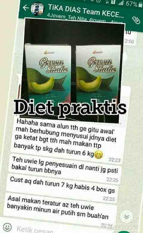 Foto: Produk Diet Ga Ribet Tanpa Efek Smping
