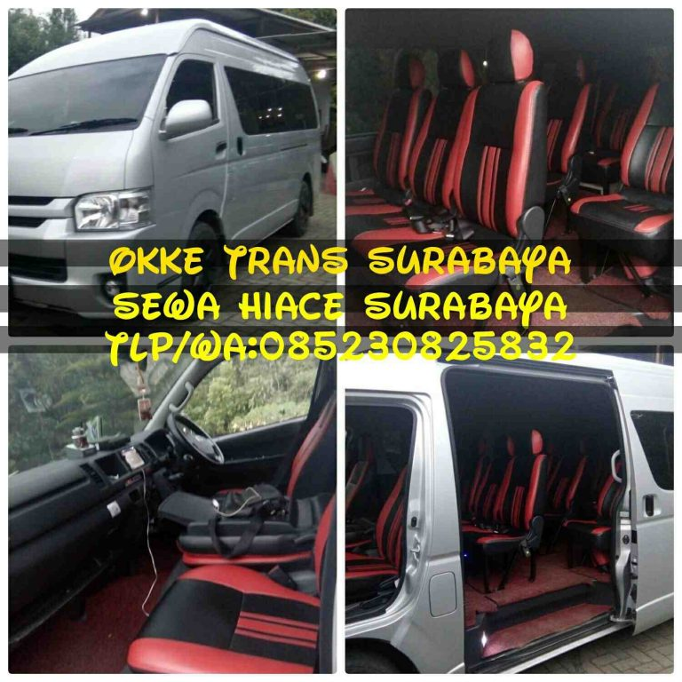 Foto: Sewa Hiace Surabaya