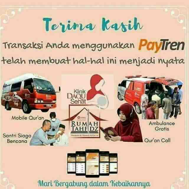 Foto: Info Pendaftaran Paytren