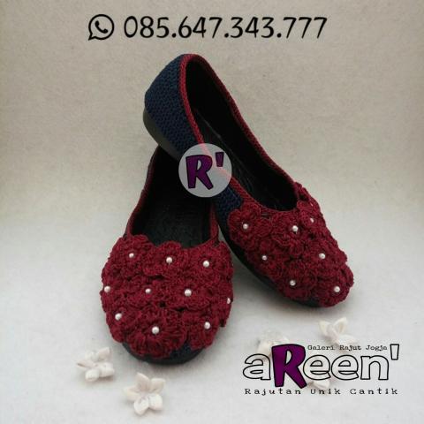 Foto: Sepatu Rajut, Sepatu Rajut Dewasa, Sepatu Rajut