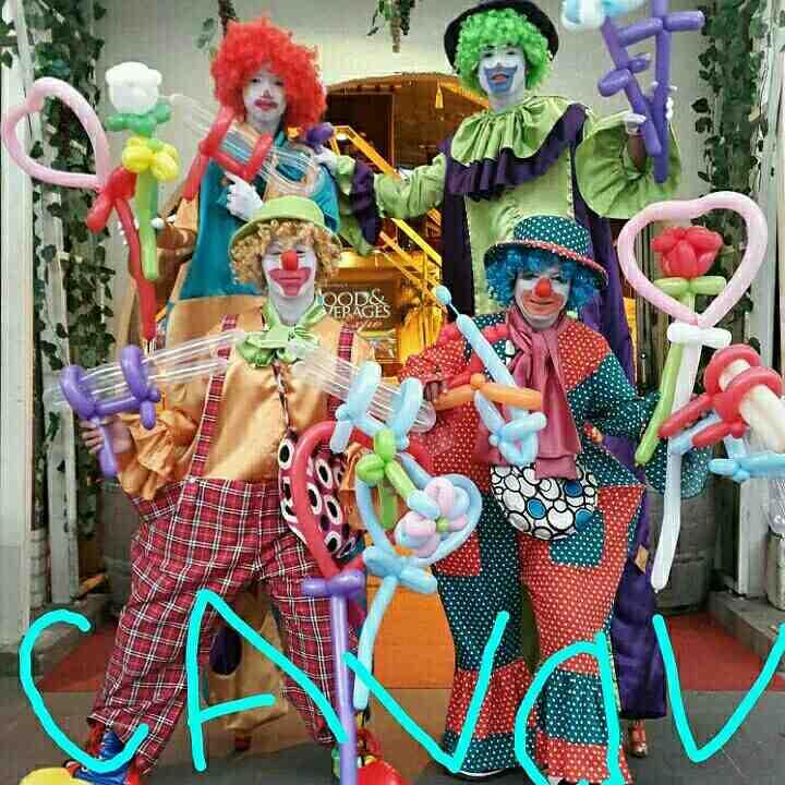 Foto: Jasa Badut Caval Entertain
