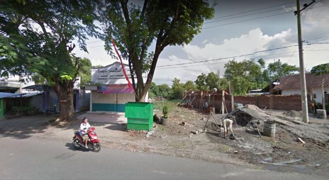 Foto: Tanah Murah Poros Jalan Raya Berbek-Loceret Nganjuk Pasar Berbek