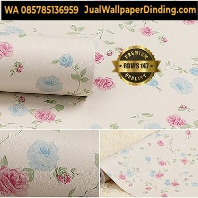 Foto: Wallpaper Sticker Bunga Murah