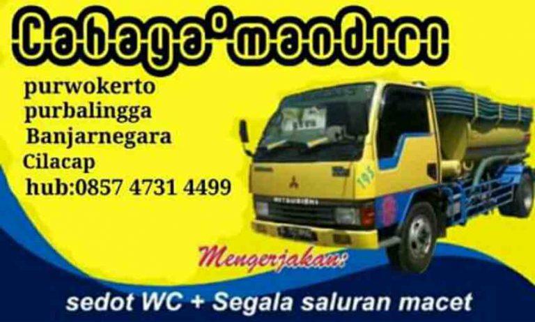 Foto: Sedot WC Service Saluran Mampet Purwokerto