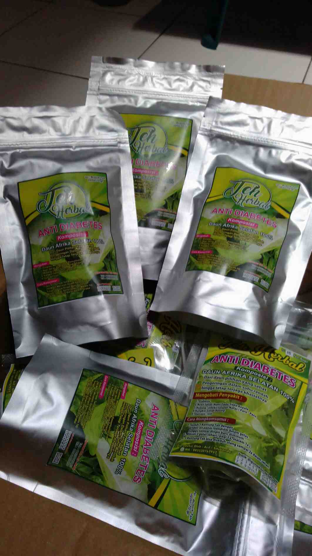Foto: Teh Herbal Anti Diabetes
