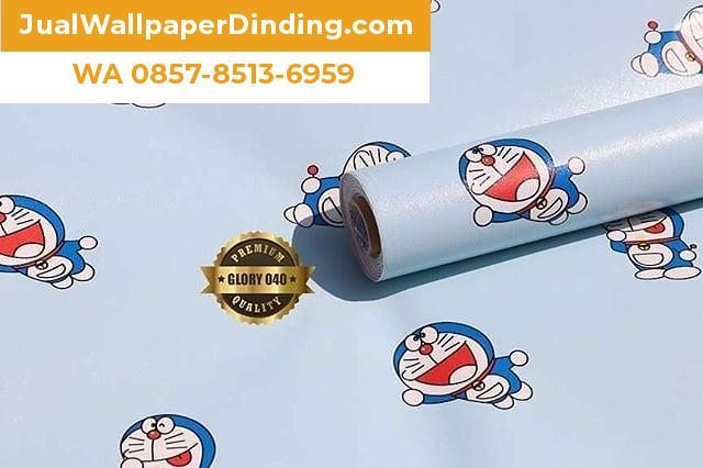 Foto: Wallpaper Sticker Doraemon Sidoarjo