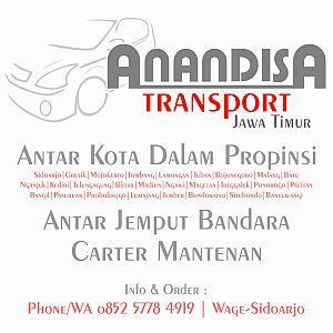 Foto: Anandisa Transport – Jasa Transportasi Surabaya