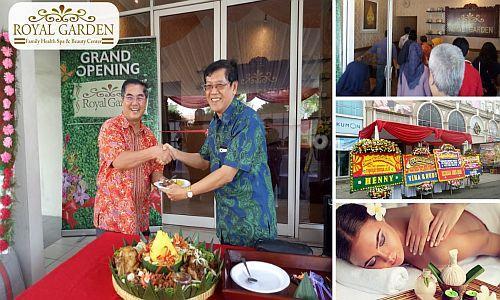 Foto: Peluang Bisnis Waralaba Royal Garden Spa, Potensi Untung Puluhan Perbulan