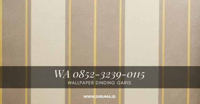 Foto: Wallpaper dinding Motif Garis
